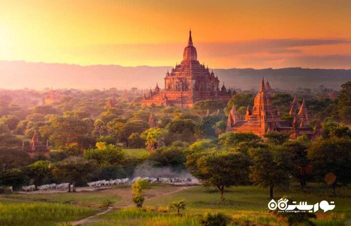 گر می خواهید به طور جدی از معابد بازدید کنید میانمار