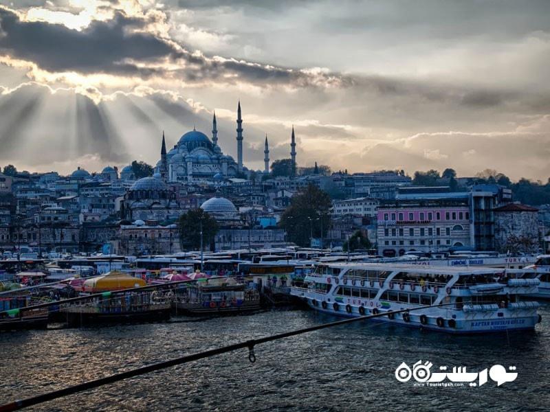 1- استانبول شهر افسانه هاست