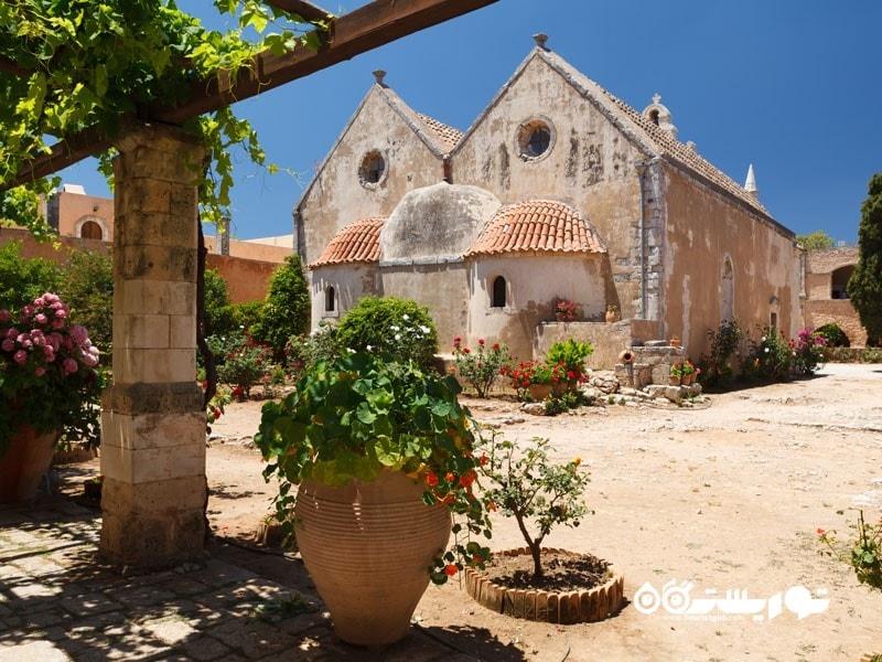بازدید از صومعه سرای آرکادی (Arkadi)
