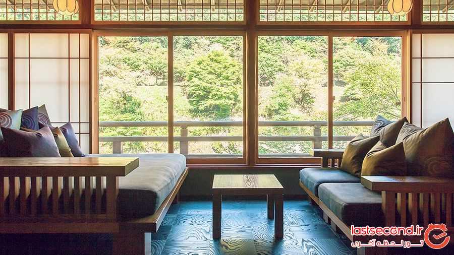 هتلی رویایی در کیوتو ژاپن + تصاویر           