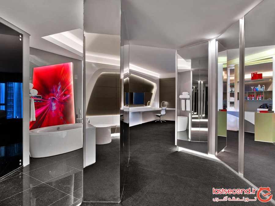 هتل لوکس دبلیو دبی الحبتور سیتی 