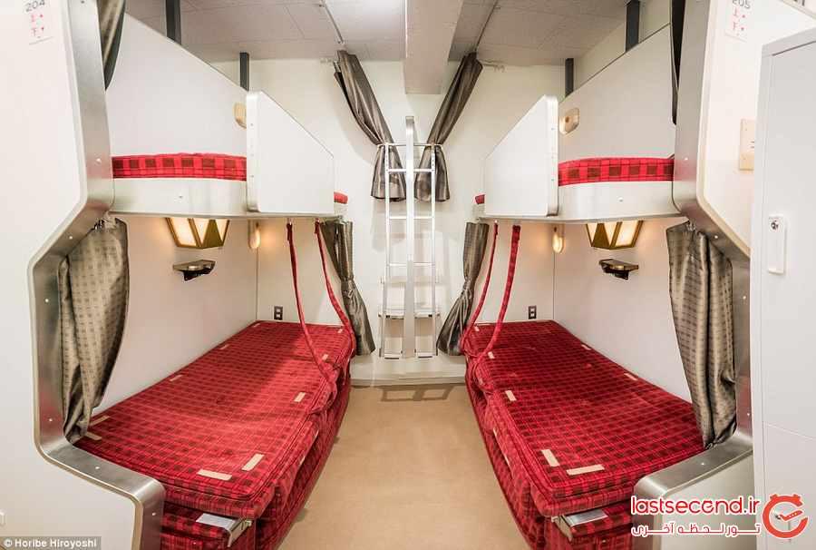 هتلی شبیه به یک قطار            