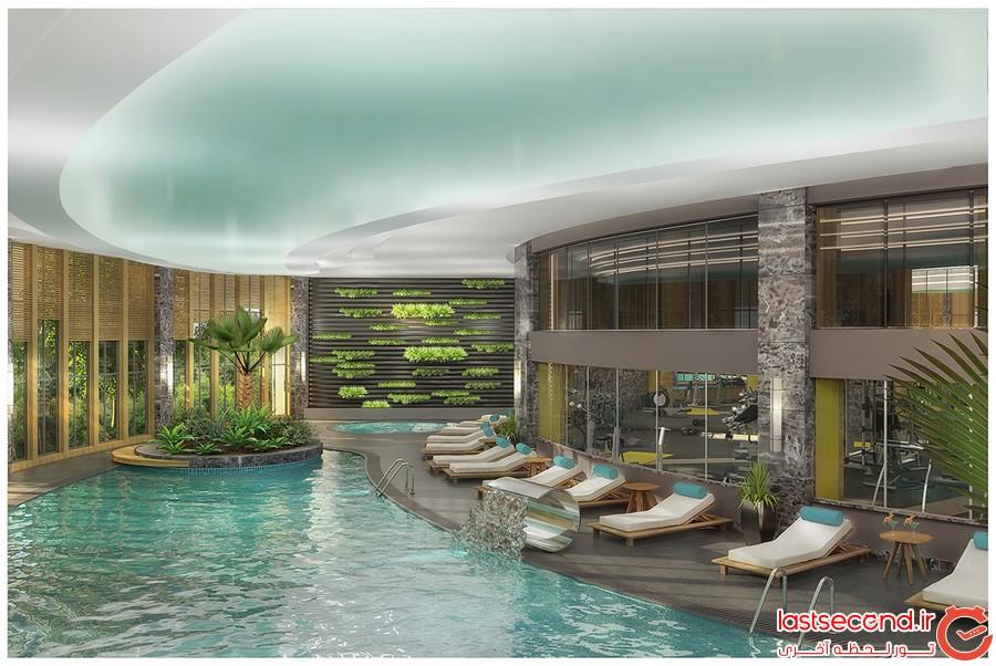 هتل لوکس تایتانیک در بدروم