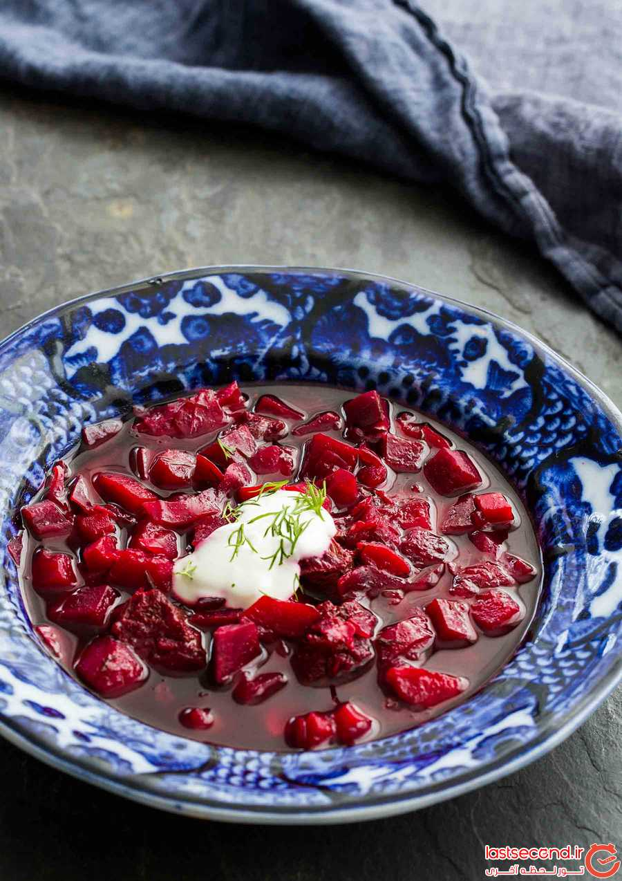 برترین و هیجان انگیزترین غذاهای روسیه