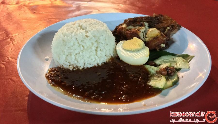 بهترین غذاهای محلی کوآلالامپور