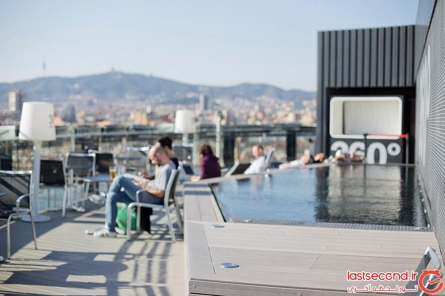 برترین رستوران های روی بام در بارسلونا