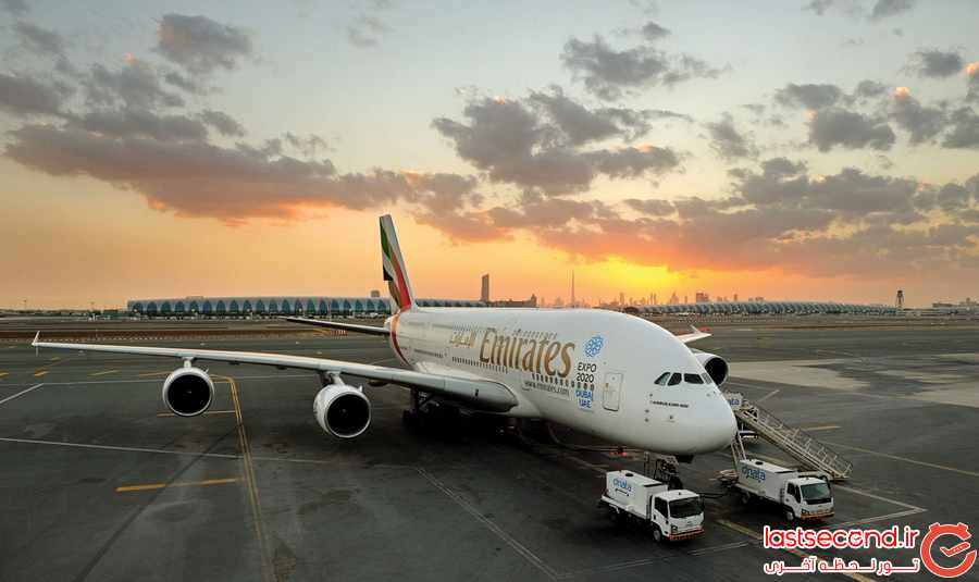 هواپیمایی امارات برای چهارمین بار بهترین خط هوایی شناخته شد  