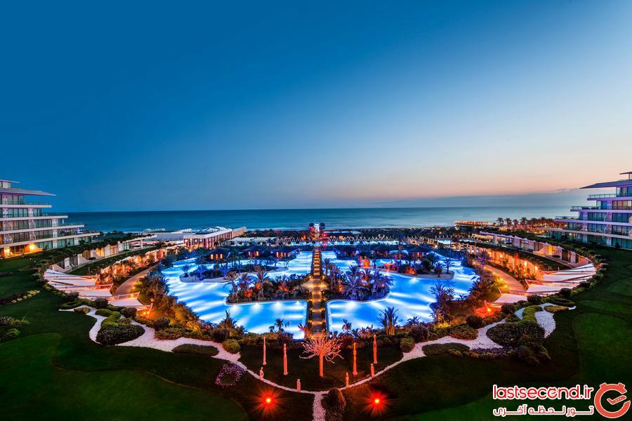 لوکس ترین هتل های ترکیه در سال 2016