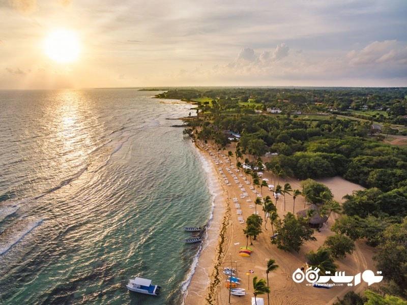 جزیره مینی تاس (Minitas) در جمهوری دومینیکن