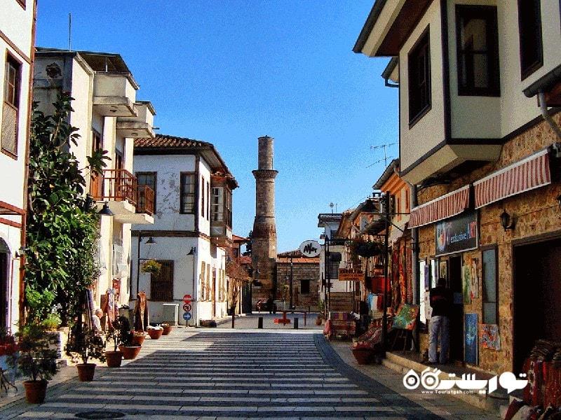 بهترین محله های آنتالیا برای گردش؟