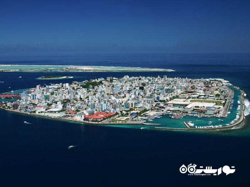 جزیره ماله (Malé) در کشور مالدیو