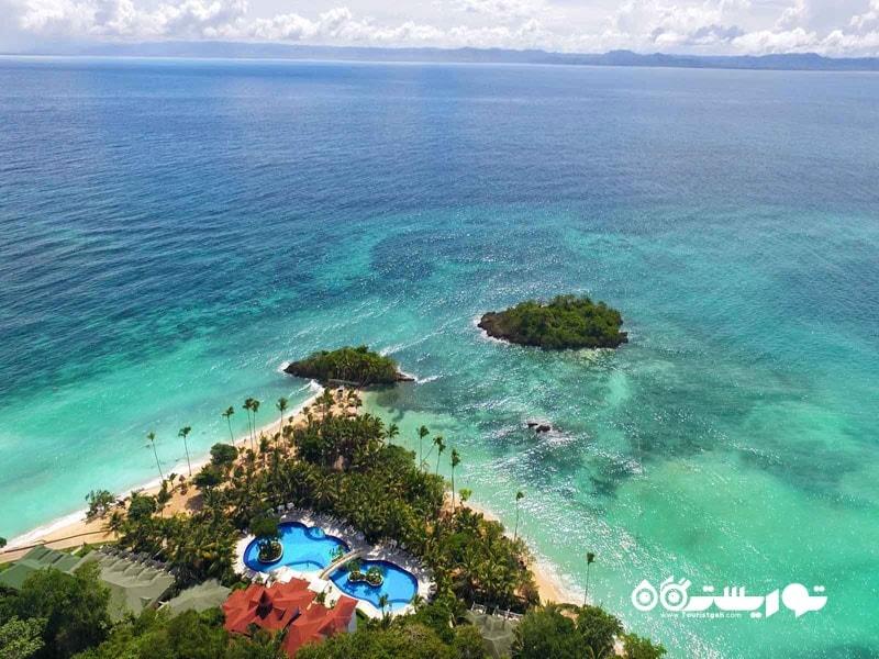 جزیره کایو لوان تادو (Cayo Levantado) در جمهوری دومینیکن