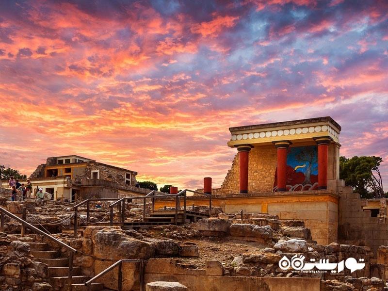 بازدید از کاخ کنوسوس (The Palace of Knossos)