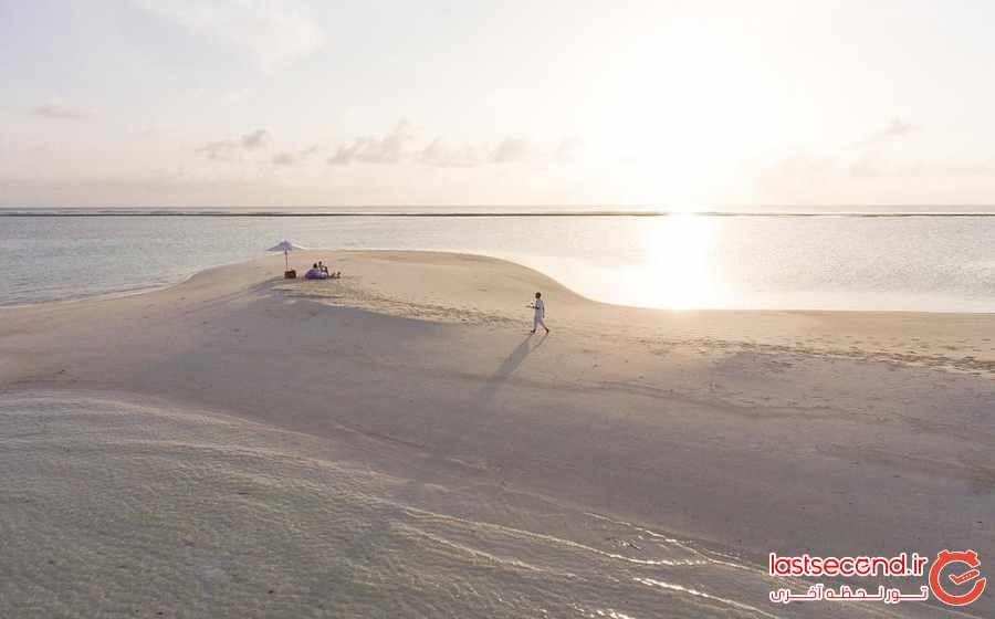 سونوا جانی ریزورت ، اقامتگاهی سازگار با محیط زیست در مالدیو 
