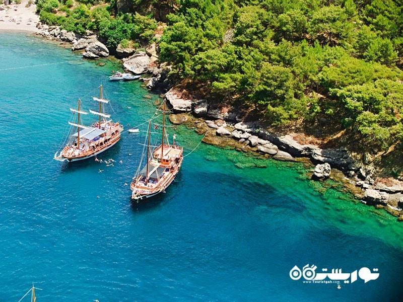 1- به منطقه ریویرا ترکیه سفر کنید