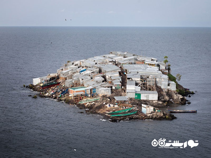 جزیره میگنیگو (Migingo) در کشور کنیا