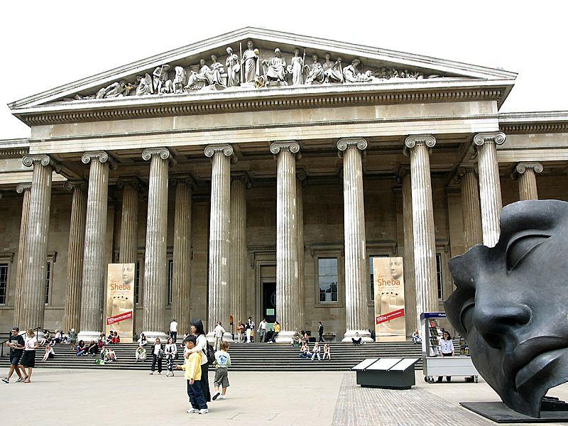 British Museum یکی از غنی ترین و بزرگترین موزه های دنیا