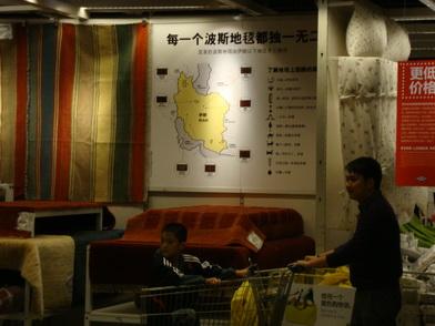 چین ، پکن - کاخ تابستانی ، باغ وحش پکن ، آیکیا – ۳۰ سپتامبر ۲۰۱۱