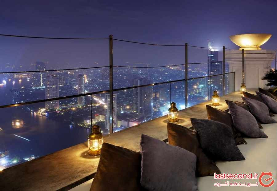لبوا ات استیت تاور ، هتلی لوکس با چشم اندازی بی نظیر در بانکوک 