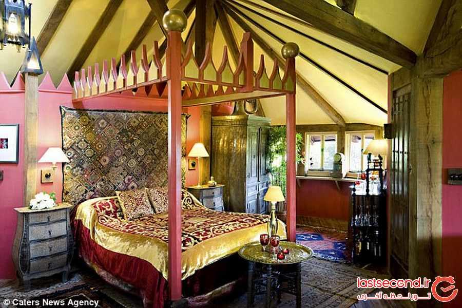 خانه اژدها ، اقامتگاهی برای طرفداران سریال بازی تاج و تخت 