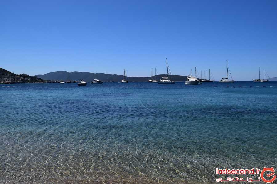 سفر به زیباترین سواحل ترکیه (بدروم)