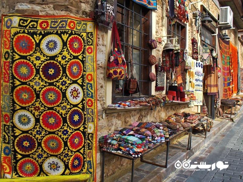 مغازه ها و بازارهای آنتالیا