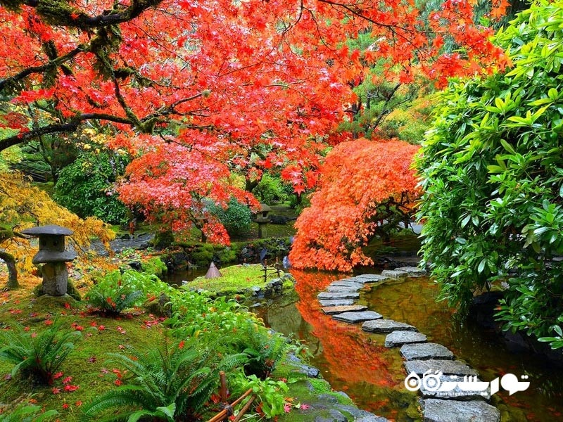 باغ های بوچارت (Butchart Gardens)