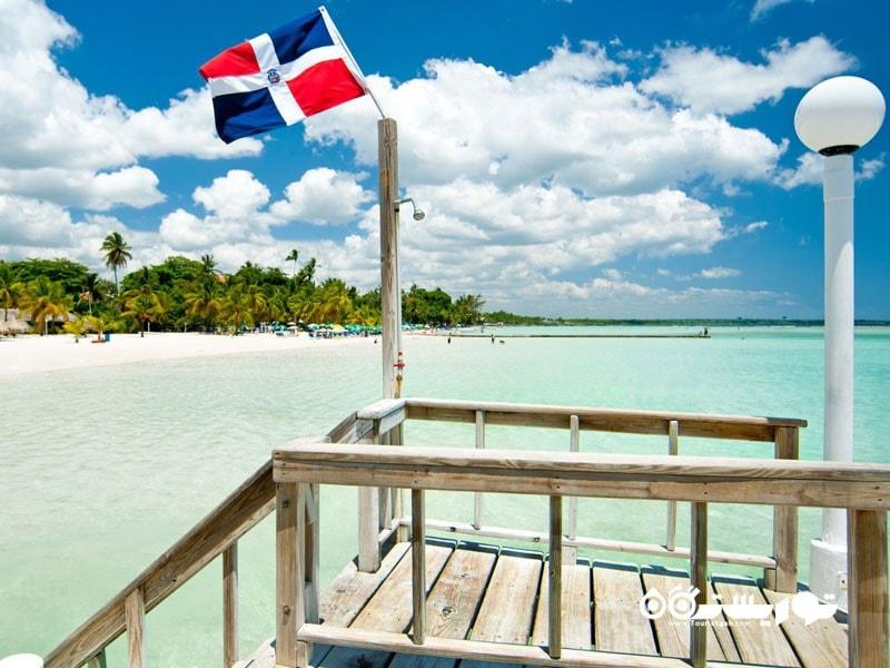 جزیره پلایا بوکا چیکا (Playa Boca Chica) در جمهوری دومینیکن