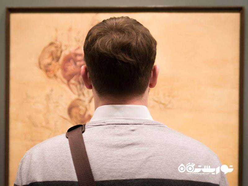 18- صحنه هنرهای معاصر در سطح جهانی است.