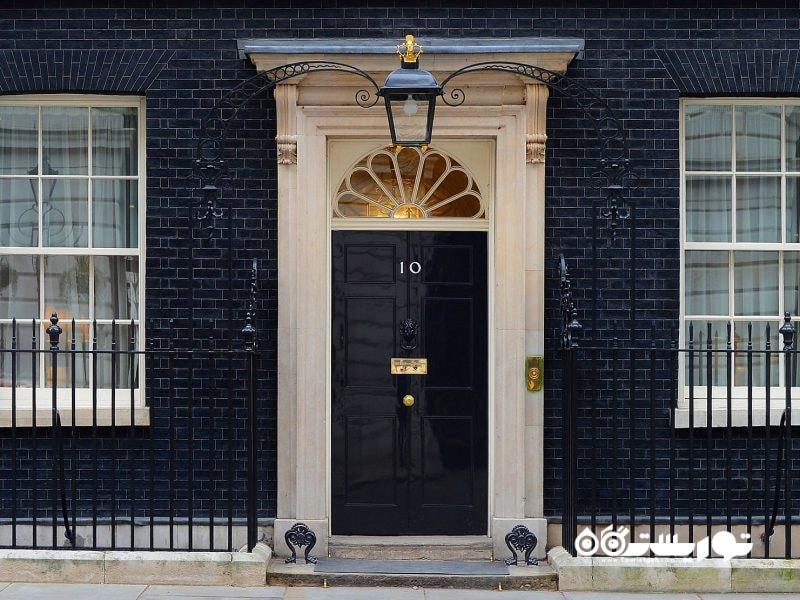 خیابان دهم داوینگ (Downing Street) در لندن