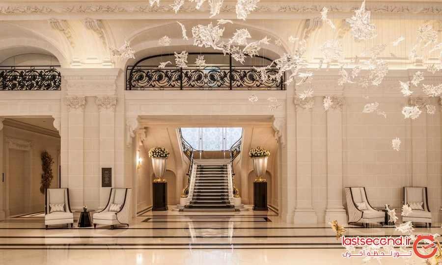 نگاهی به یکی از برترین و لوکس ترین هتل های پاریس 
