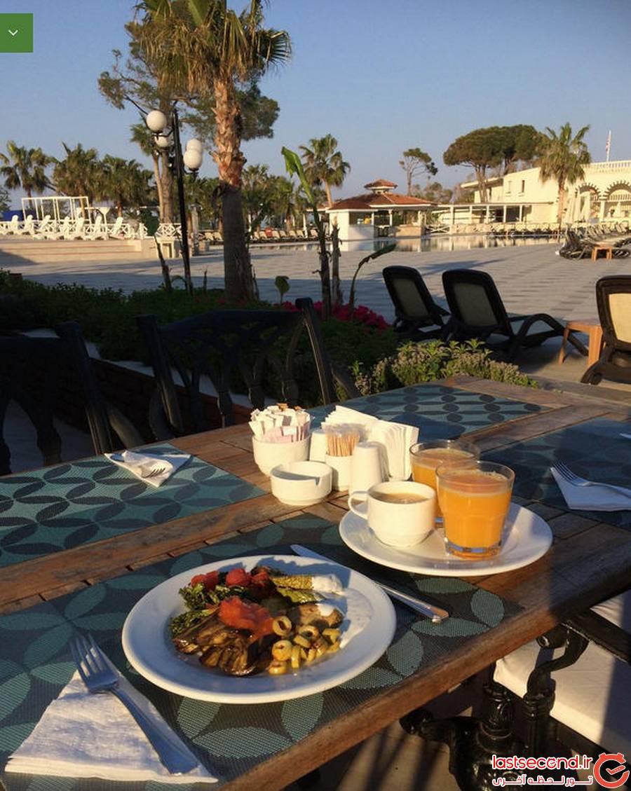 سفرنامه آنتالیا، هتل لتونیا دوست داشتنی