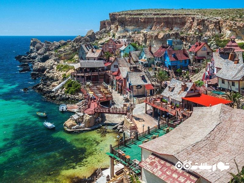 دهکده پای آی (Popeye) در کشور مالت (Malta)
