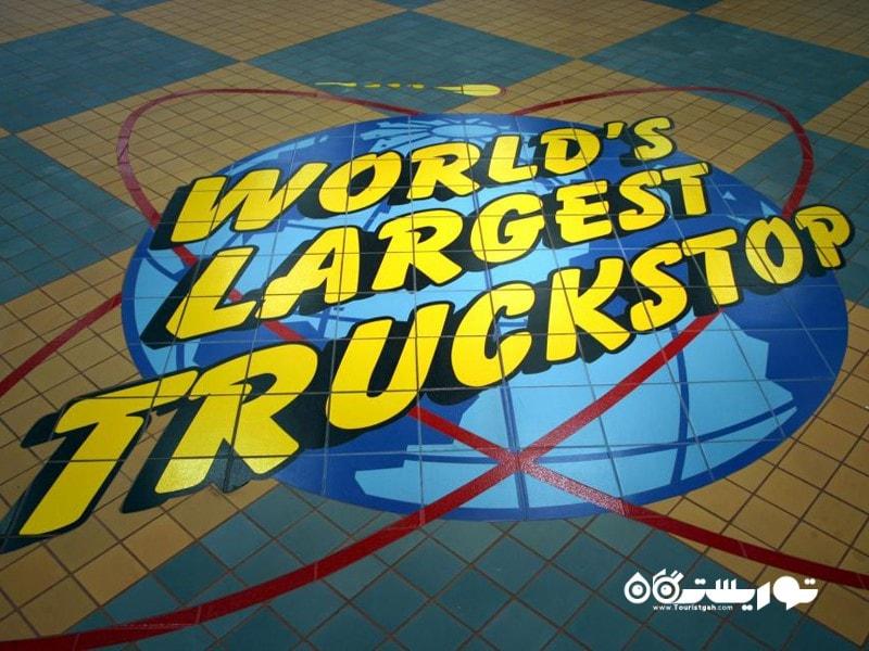 11- توقفگاه کامیونی لووا اِیتی (Iowa 80)، ایالت آیووا (Iowa)