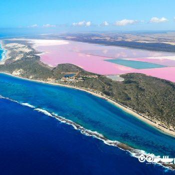 دریاچه ای شگفت انگیز در استرالیا