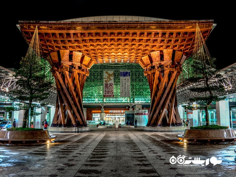 ایستگاه قطار کانازاوا (Kanazawa Station)، ژاپن
