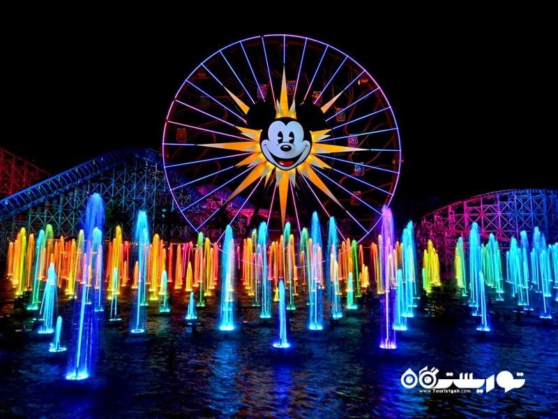 پارک تفریحی دیزنی کالیفرنیا اَدوِنچِر (Disney California Adventure)
