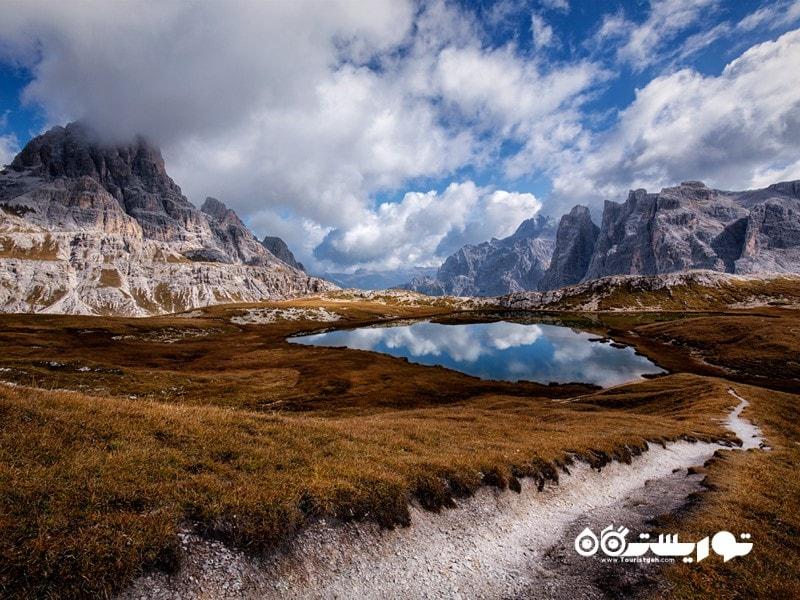 1- پارک ملی دولومیتی بلونِزی (Dolomiti Bellunesi National Park)، ایتالیا