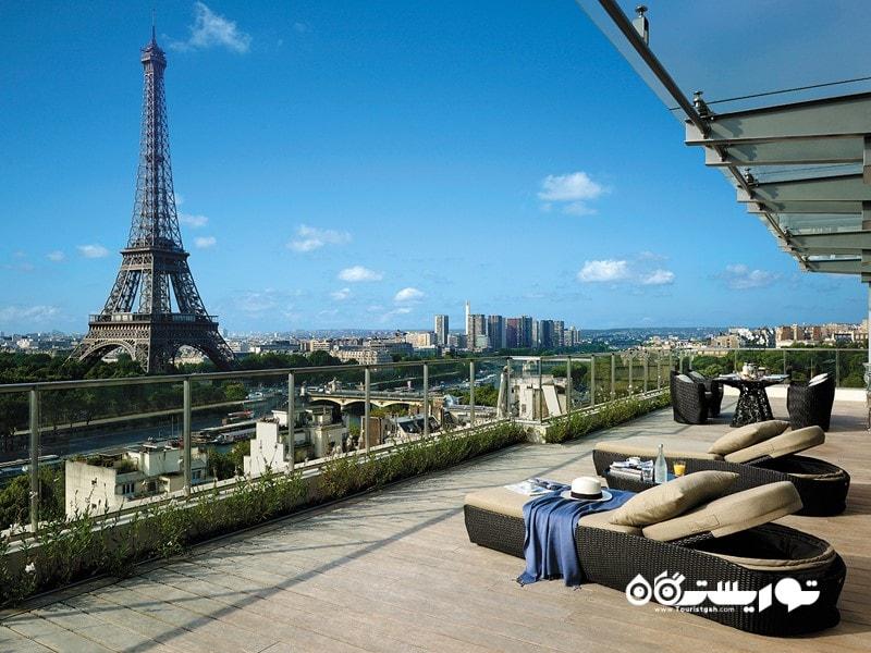 12- هتل شانگری لا، پاریس (Shangri-La Hotel, Paris)