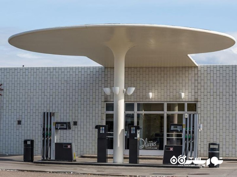 7- پمپ بنزین اِسکاوس هُود (Skovshoved Petrol Station)