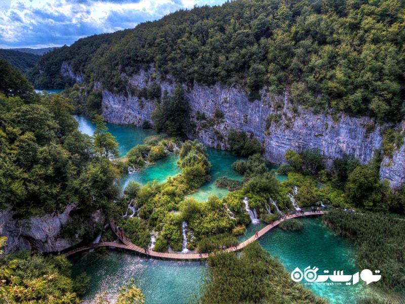 دریاچه پلیتویس، کرواسی (Plitvice Lakes, Croatia)