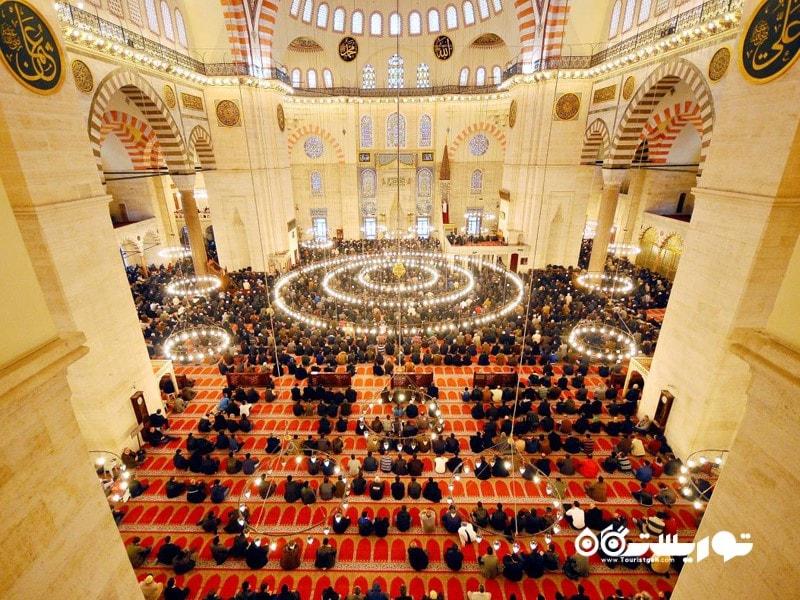 مسجد سلیمانیه (SÜLEYMANIYE MOSQUE)