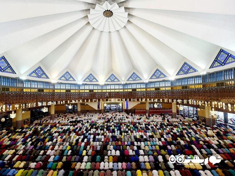 مسجد نِگارا یا مسجد ملی مالزی (NATIONAL MOSQUE OF MALAYSIA)