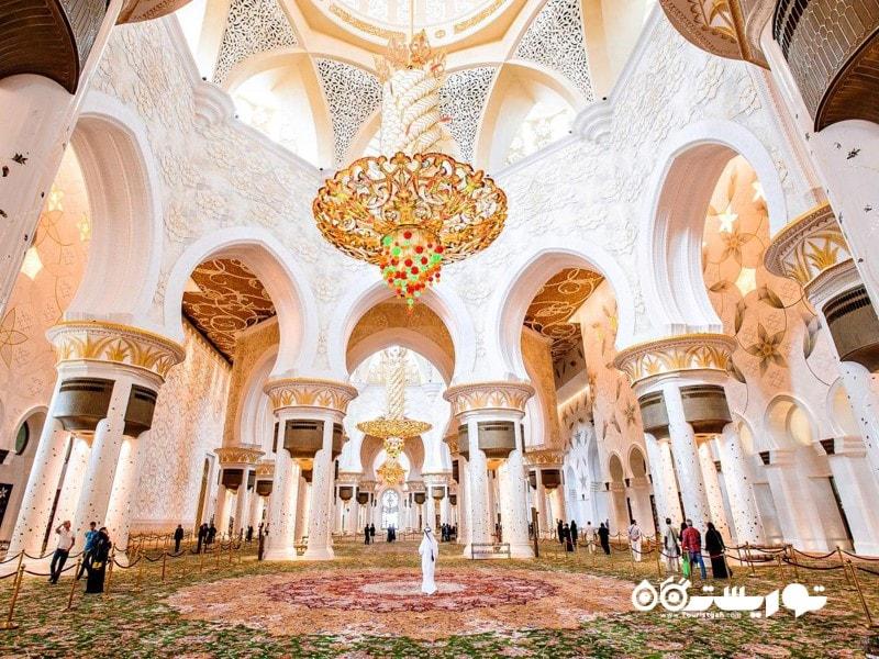 مسجد شیخ زاید (SHAIKH ZAYED GRAND MOSQUE)