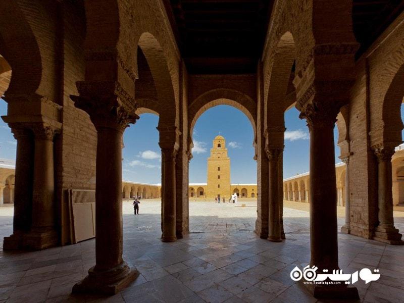 مسجد جامع قیروان (GREAT MOSQUE IN KAIROUAN)
