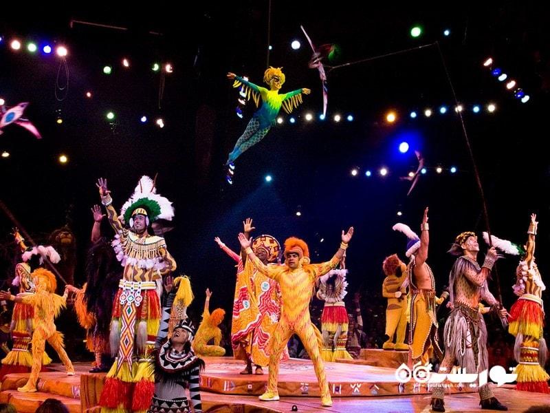 فستیوال شیر شاه (Lion King)، پارک تفریحی اَنیمال کینگدام (Animal Kingdom)