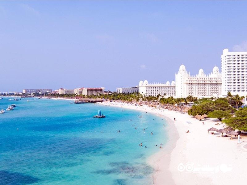 بهترین برای پرسه زنی در ساحل: جزیره آروبا (Aruba)