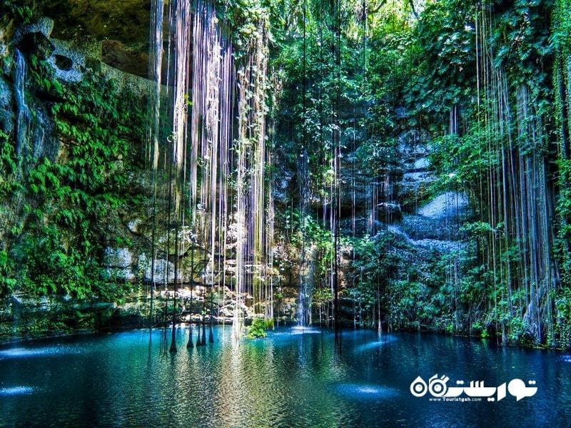 دریاچه غار یوکاتان، مکزیک (Yucatan Cave Lake, Mexico)
