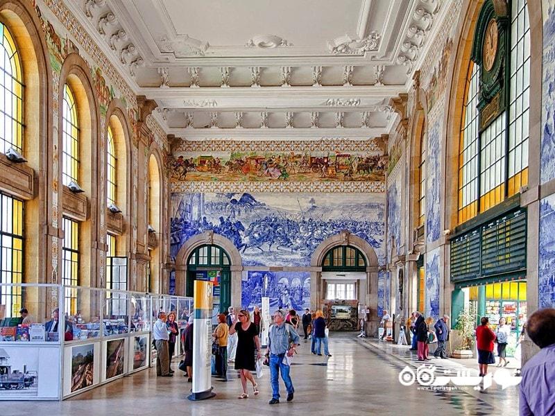 ایستگاه قطار سائو بنتو (Estacao de Sao Bento)، شهر پورتو (Porto)