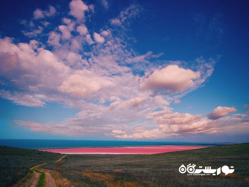 دریاچه استرالیایی هیلر (Hillier)